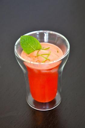 Recette de jus de pastèque désaltérant