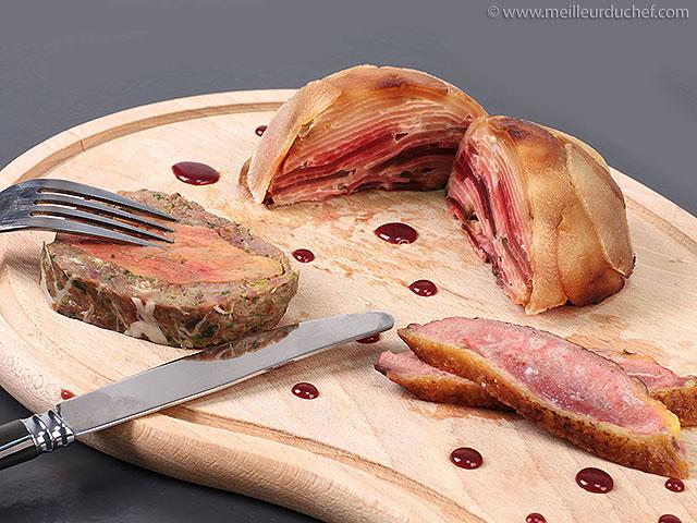 Dodine de foie gras et canard en aiguillettes  recette de cuisine ...