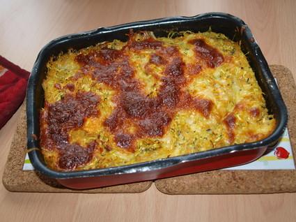 Recette de gratin aux courgettes et patate douce