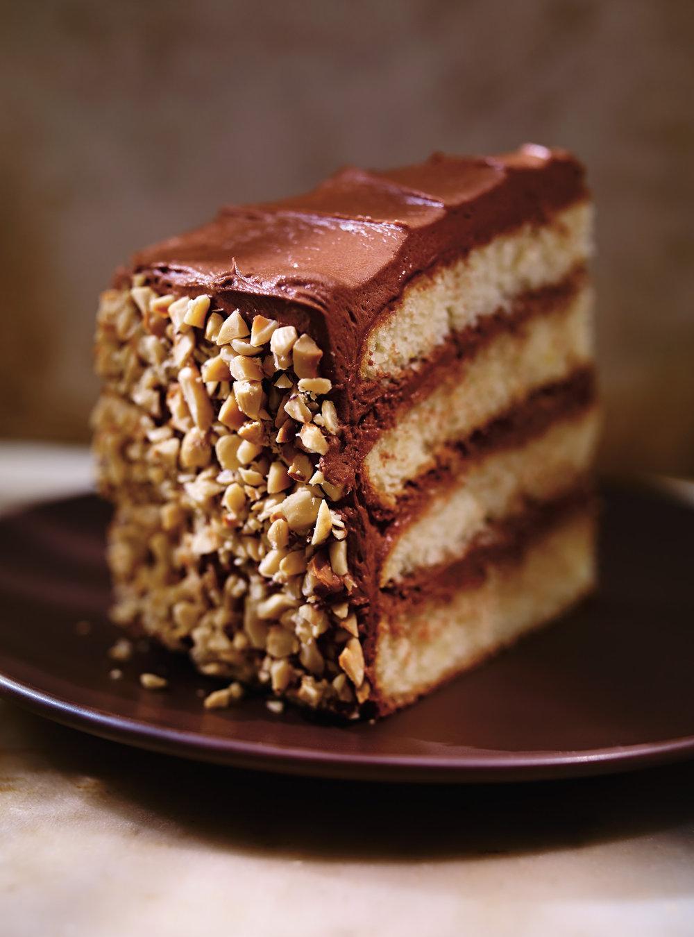 Gâteau aux noisettes, à l'orange et au chocolat (dobos torte) | ricardo