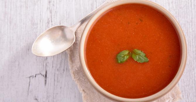 Recette de potage de légumes façon gaspacho