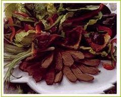 Recette salade de filets de pigeon, croûtons et noix