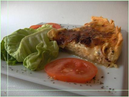 Recette de tarte au thon et au chèvre