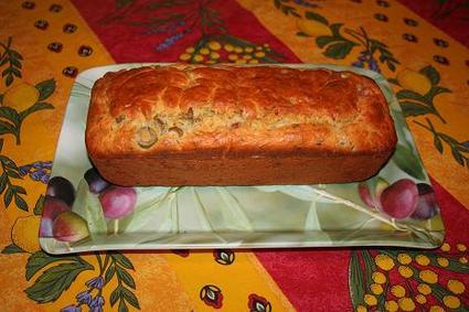 Recette cake aux olives et aux lardons (cake salé)