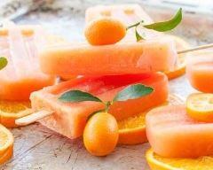 Recette glace à l'eau à l'orange