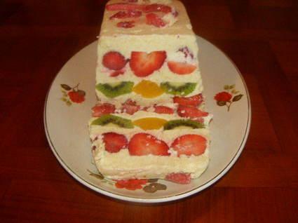 Recette de fruits à la crème d'amandes