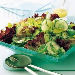 Recette salade de concombre – toutes les recettes allrecipes
