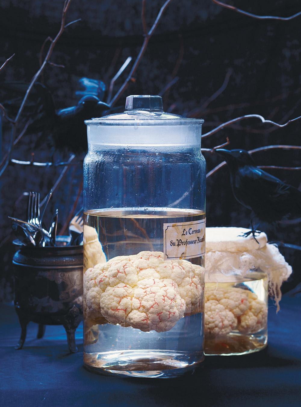recette cupcakes cerveau pour halloween toutes les. Black Bedroom Furniture Sets. Home Design Ideas