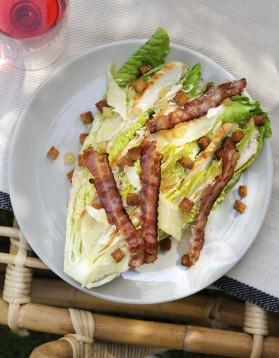 Salade caesar par brice morvent pour 8 personnes