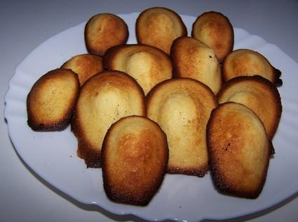 Recette madeleines au citron pour 6 personnes