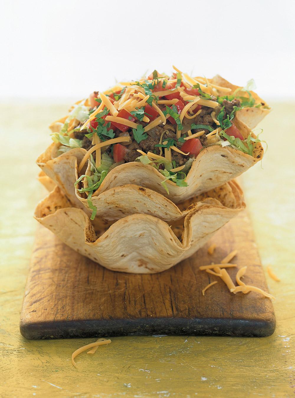 Salade tortilla au boeuf | ricardo
