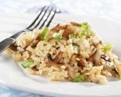 Recette risotto aux champignons et au vin blanc