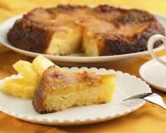 Recette gâteau renversé à l'ananas sans gluten
