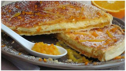 Recette de tarte à l'orange et à la ricotta