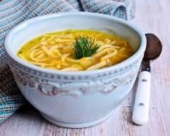 Recette soupe de vermicelles au fromage