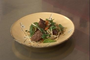 Recette de wok de boeuf à la citronnelle facile et rapide