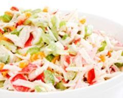Salade fraîcheur au crabe | cuisine az