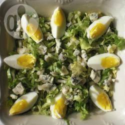 Recette salade de scarole au bleu – toutes les recettes allrecipes