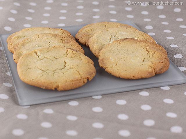 Cookies au chocolat blanc  notre recette avec photos ...
