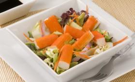 Salade d'été au crabe pour 2 personnes