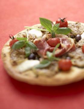 Pizzas jabugo et figues pour 4 personnes