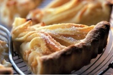 Recette de tarte aux pommes et à la compote