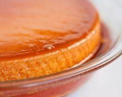 Recette crème renversée au caramel au sucre vanillé