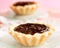 Recette tartelettes au chocolat et au caramel beurre salé