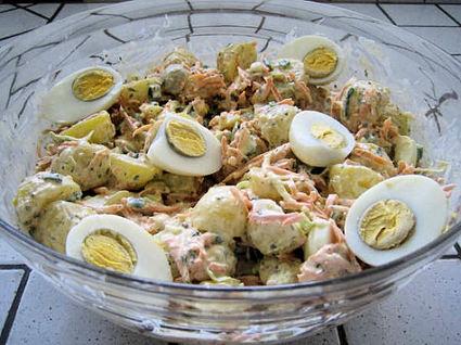 Recette de 4th july salad (salade de pommes de terre)