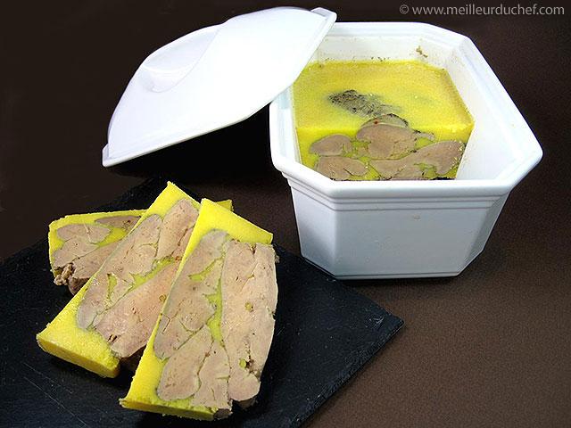 Terrine de foie gras  fiche recette avec photos  meilleurduchef.com