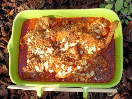 Recette de tajine de lapin aux tomates
