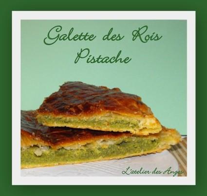 Recette de galette des rois pistache