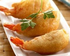Recette beignets de crevettes au curry et citron vert