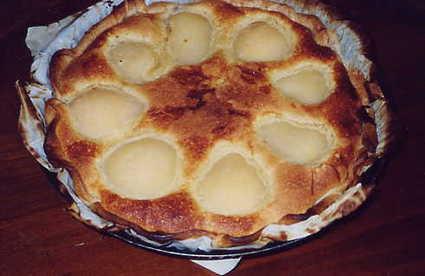 Recette tarte amande-poire (tarte dessert)