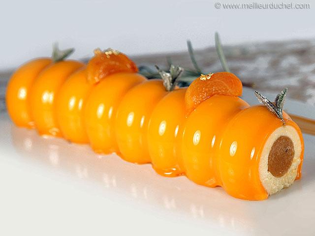 Entremets à l'abricot et senteur de romarin  la recette illustrée ...