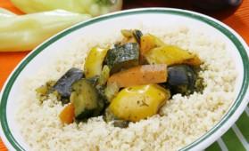 Couscous végétarien pour 6 personnes