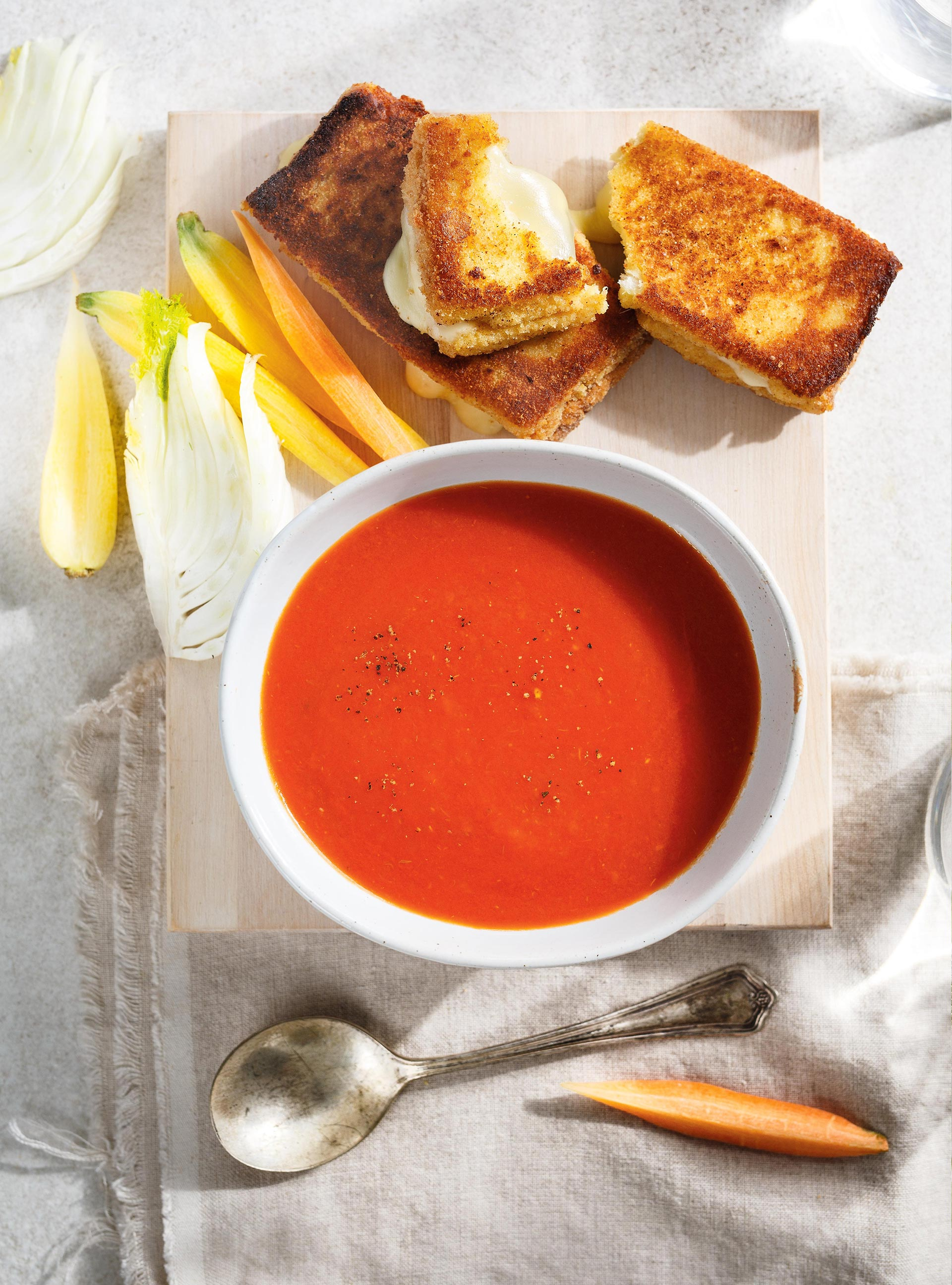 Grilled cheese pané | ricardo