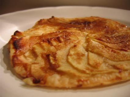 Recette de tartelettes fines aux pommes