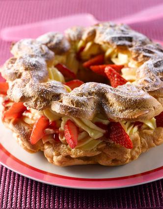 Recette de paris-fraises