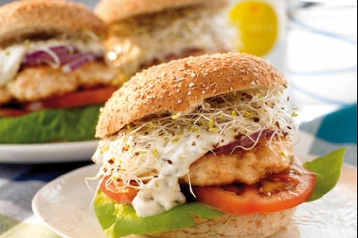 Recette de burger végétarien facile et rapide
