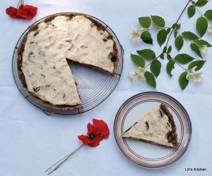 Recette de tarte sans gluten au sarrasin, légumes du soleil
