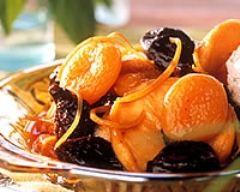 Recette compote aux fruits secs
