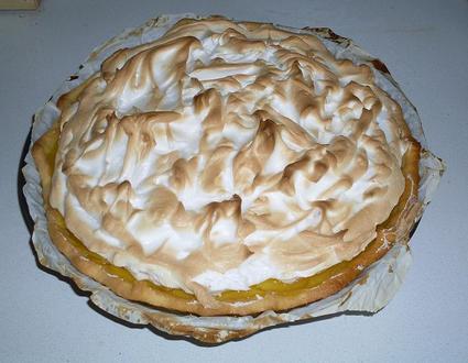 Recette de tarte au citron meringuée inratable