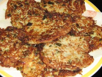 Recette de galettes de pommes de terre alsacienne