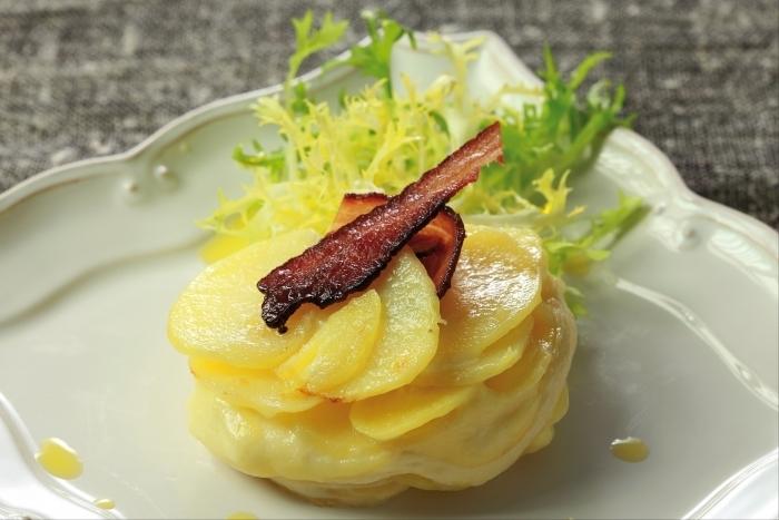 Recette de fondant de pommes de terre et saint-marcellin, petite ...