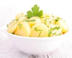 Recette salade de pommes de terre au persil