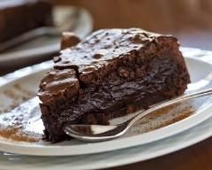 Recette fondant au chocolat sans farine