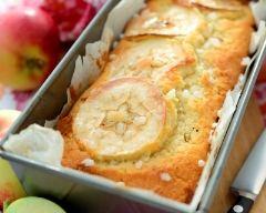 Recette cake aux pommes au beurre salé