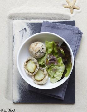 Pommes de terre en croûte d'algues pour 4 personnes