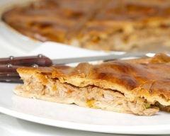 Recette tarte au thon et aux poivres